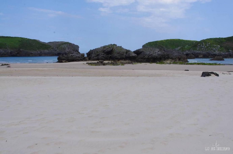 La preciosa playa de Borizo.