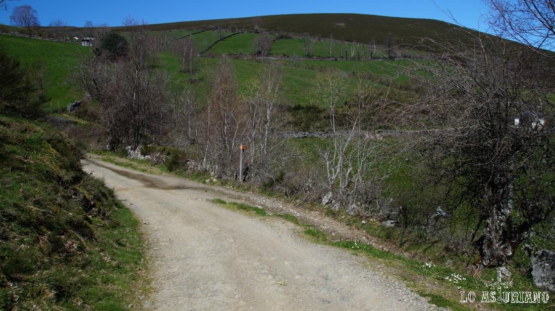 La pista desde la Chabola hasta Siero, quitado la subidita del inico es muy placentera y llana.