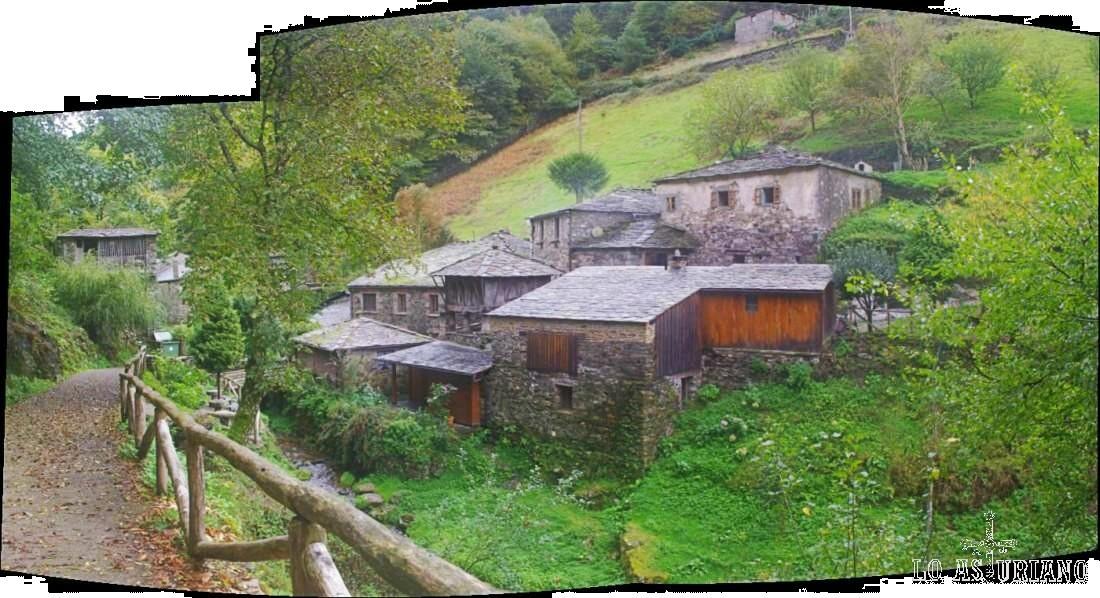 La aldea de Teixois.