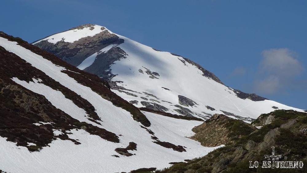 Cima nevada del Cornón.
