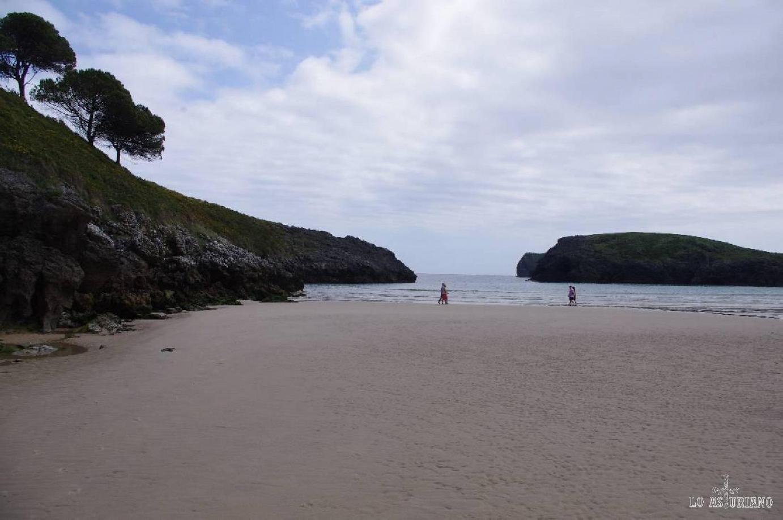 Playa de Barro en junio.