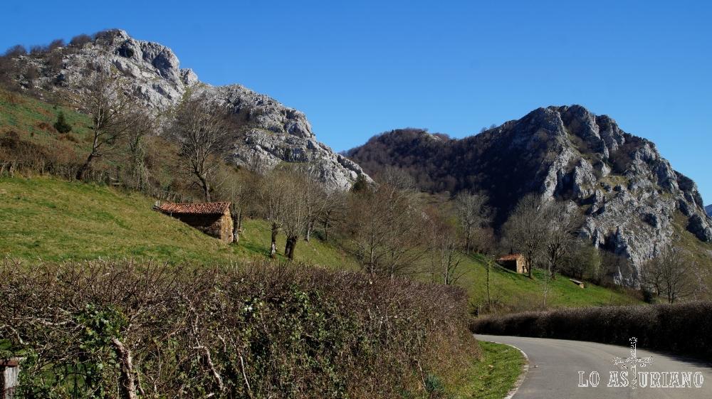 Camino de la Mota Cetín.