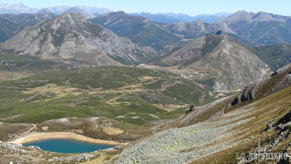El lago Ausente, León.