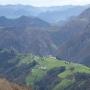 Belén, aldea de Valdés, Asturias, desde el pico del Can.