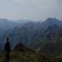 Vistas desde el pico Courío: Somiedo, peña Manteca, sierra de Begega, etc.