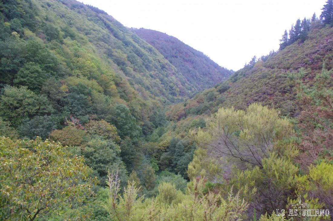 El frondoso valle del Turía nos ofrece vistas pre-otoñales fantásticas.