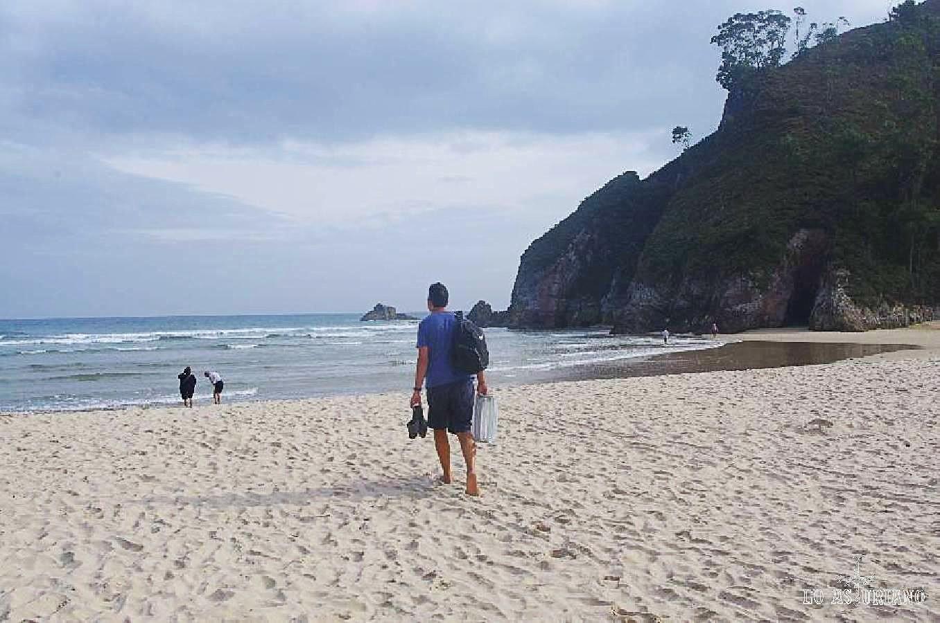 Playa de la Franca, Ribadedeva.