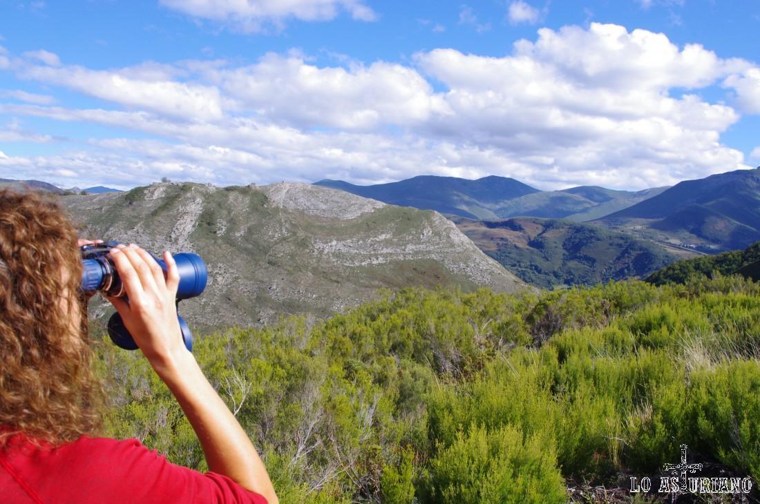 Vistas al este desde el mirador del Montecín.