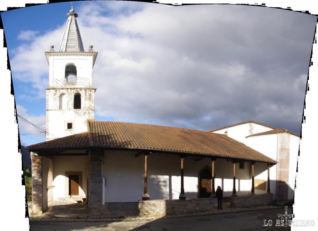Iglesia de San Andrés, en Soto de Agües, de 1805.