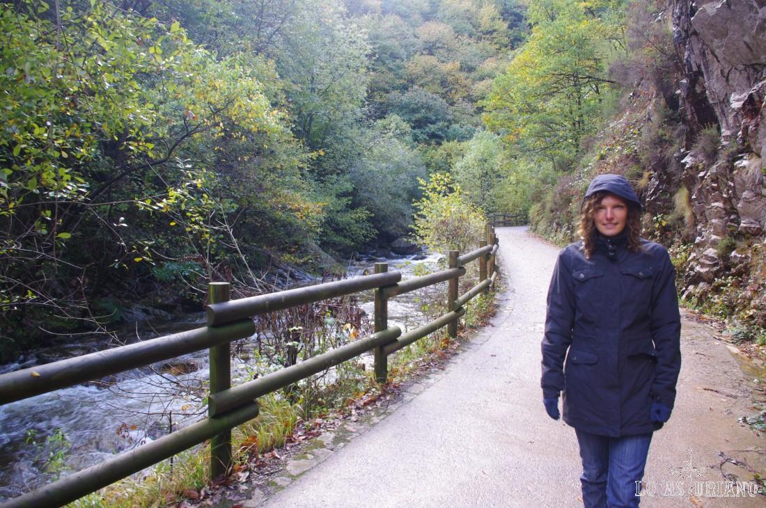 Frío y mucha belleza en aquella mañana de finales de octubre, en el Alba.