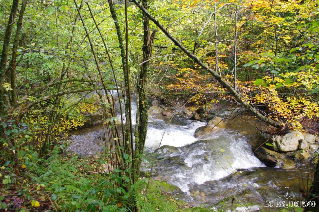 Saltos de agua y cascadas en el Alba.