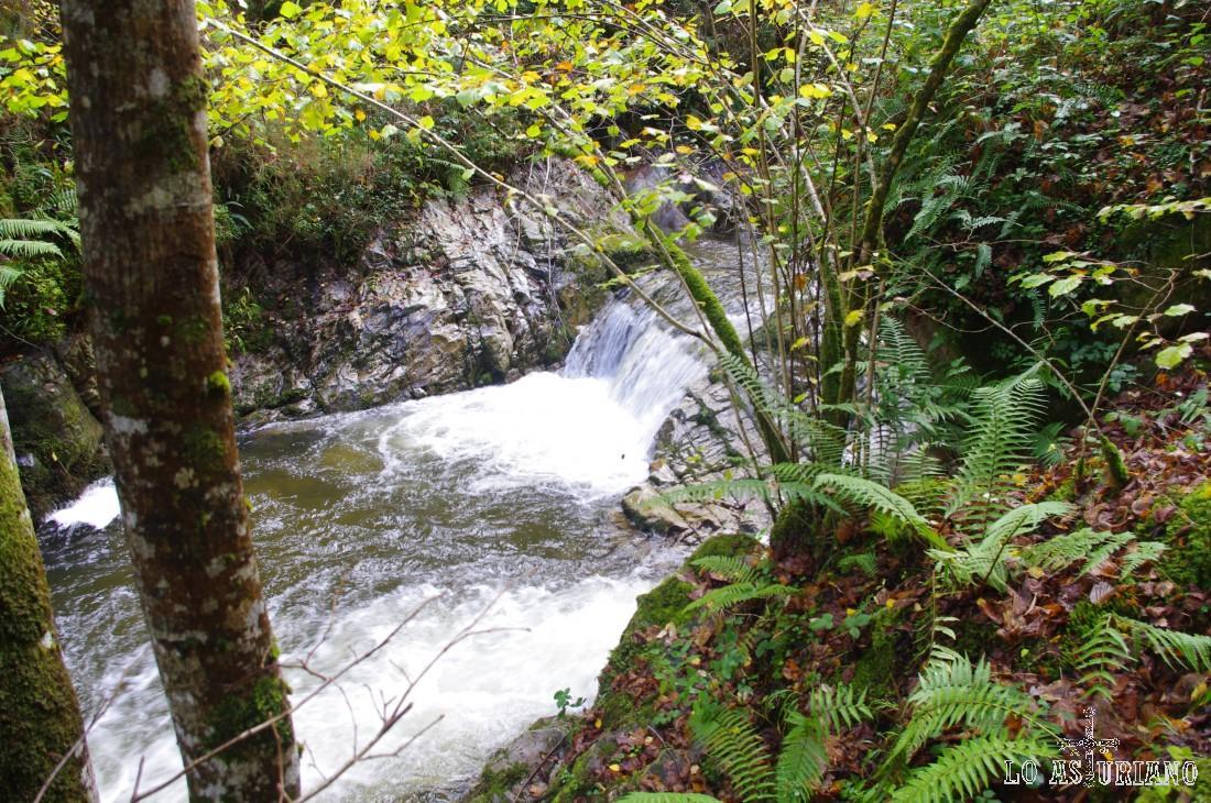 Cascadas y caídas de agua en el Alba.