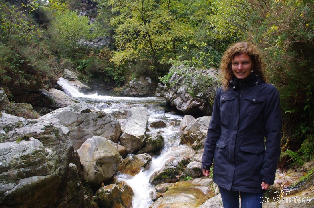 El río Alba.