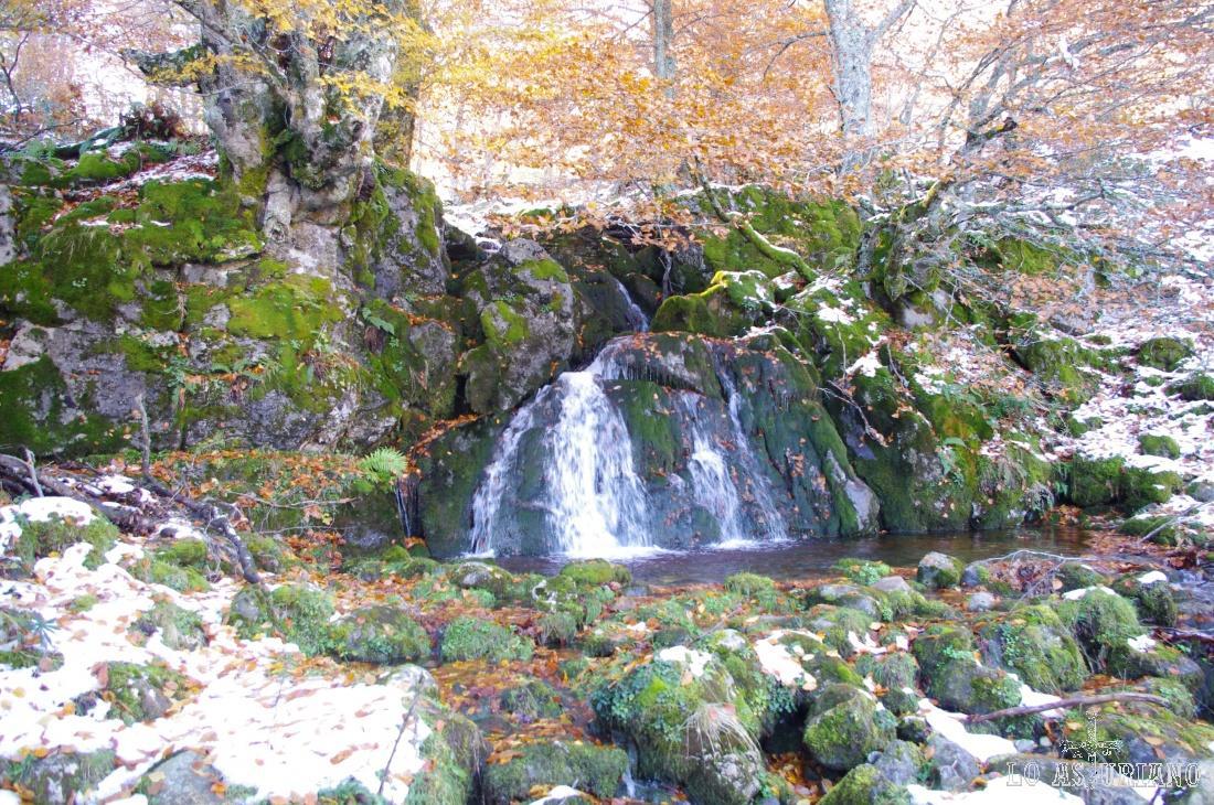 Cascada en el río Monasterio