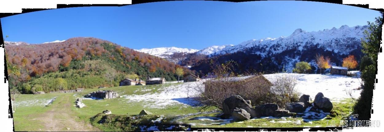 Vega de Brañagallones a 1242 msnm.