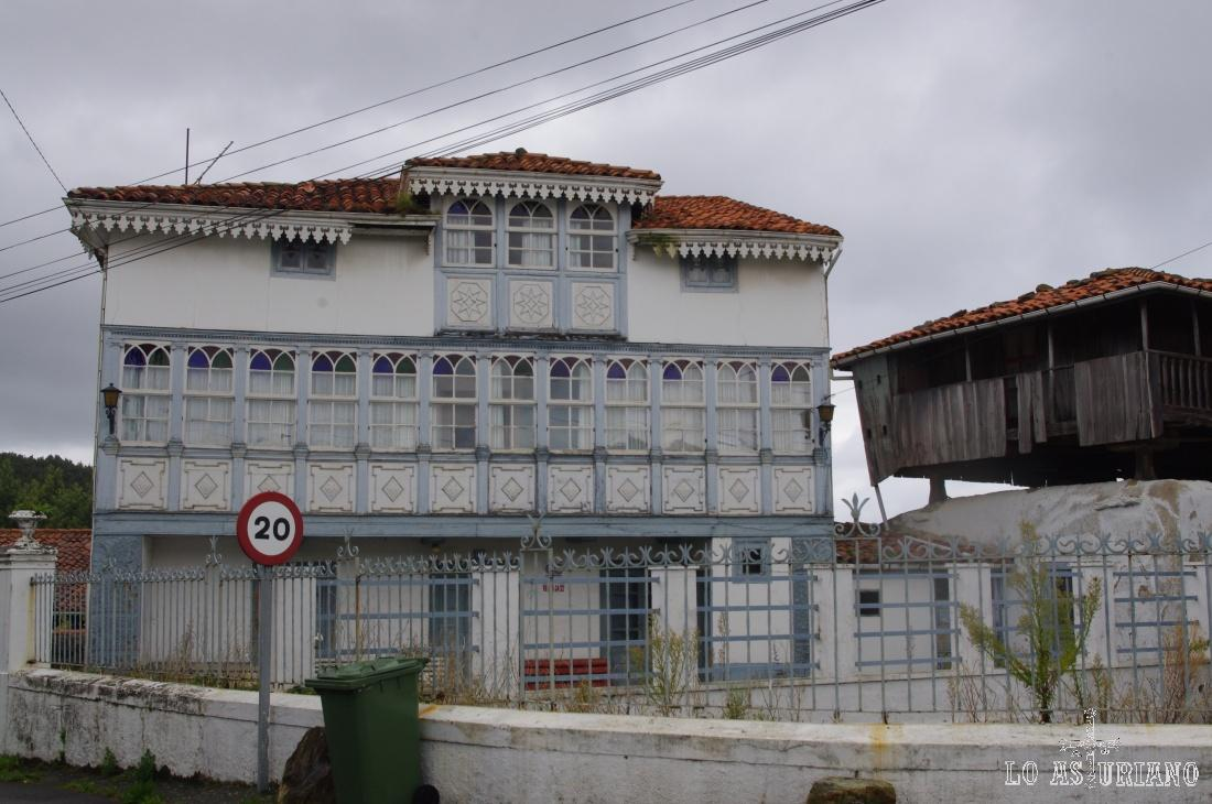 Casa de Cristal, en Somao.