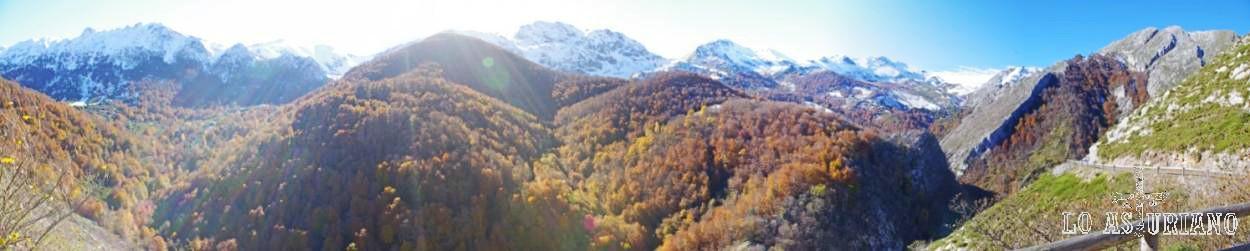 El valle alto del río Monasterio.