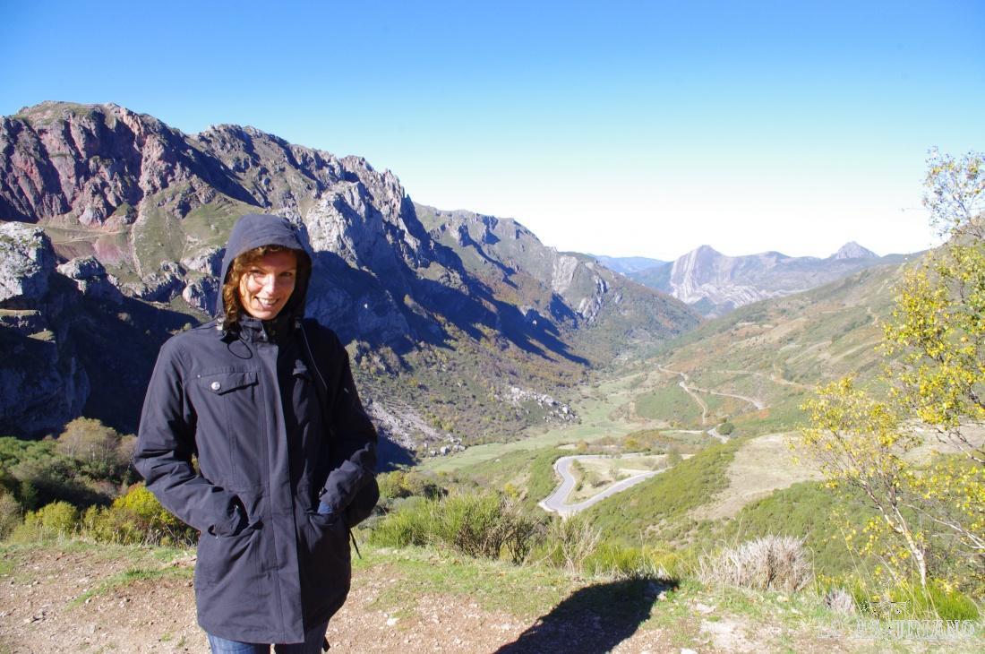 Foto con el valle de Saliencia al fondo, uno de mis favoritos.