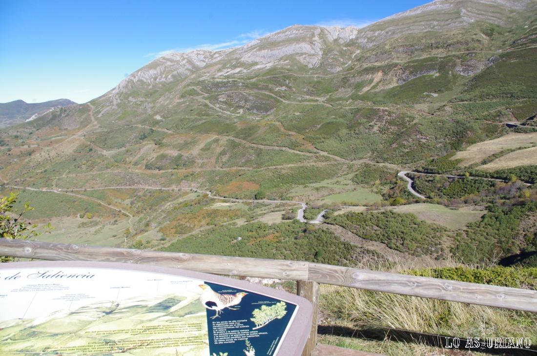 Los Puertos de la Farrapona desde el mirador del lago de la Cueva.