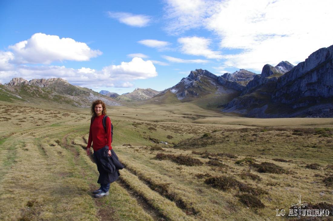 En la Vega de Camayor, una de las más especiales y altas de Somiedo. Estamos a unos 1600 msnm.