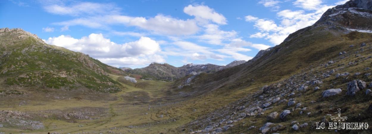 Entorno de la Farrapona desde la Vega Camayor.