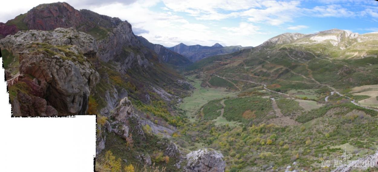 Valle de Saliencia, uno de los más bonitos de Somiedo.