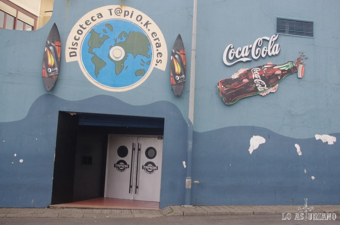 Discoteca en Tapia.