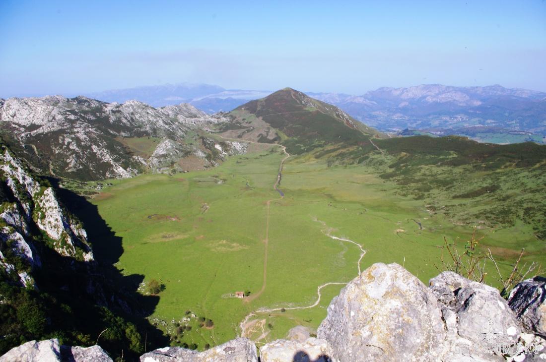 Llanos de Comeya desde el Mirador del Principe.