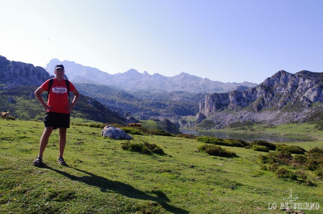 Lago de la Ercina, uno de los 2 preciosos lagos de Covadonga.