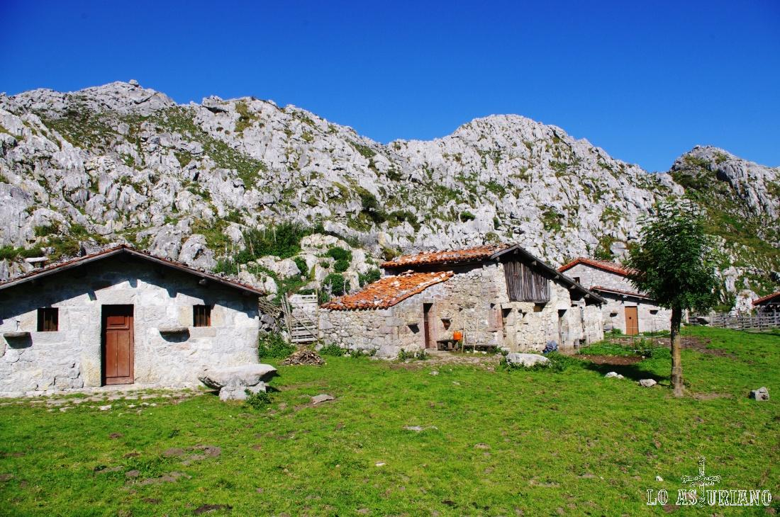Majada de Belbín, en los Lagos de Covadonga.