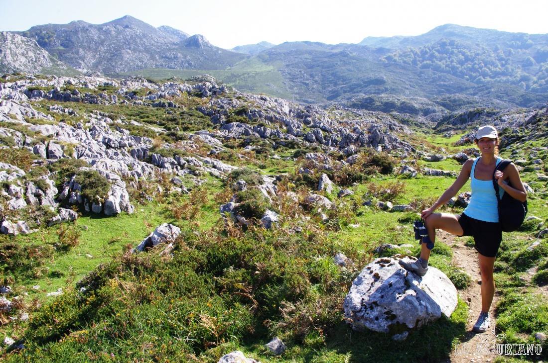 Ruta de las majadas de Covadonga.