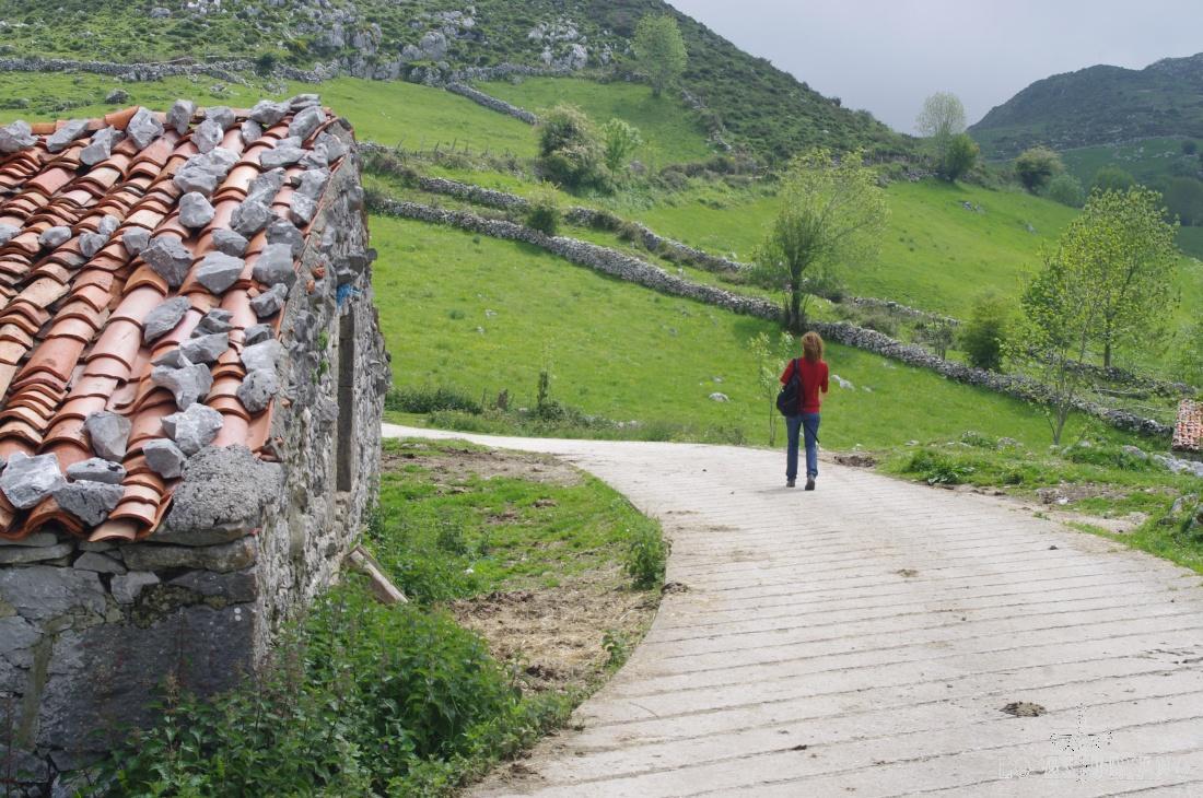 Desde Jaces, tienes un precioso paseo hasta el collado Trespandiu, que adivinamos al fondo.
