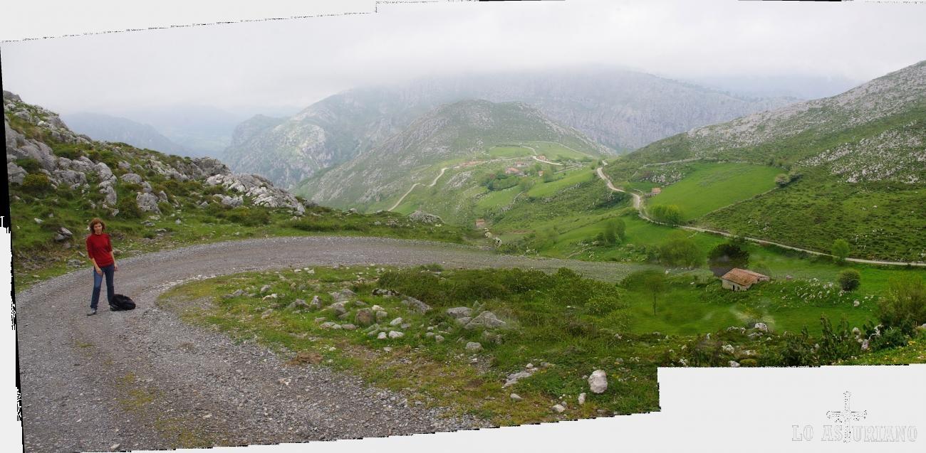 Extraordinarias vistas de las majadas pastoriles del alto Peñamellera Alta, zona de Oceño-Trespando.