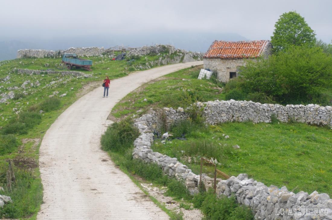 Los corralitos de piedra son típicos en esta zona de los Picos de Europa.