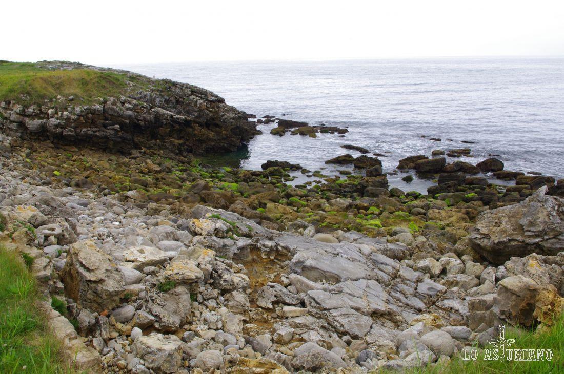 El Cantábrico en la costa de La Isla.