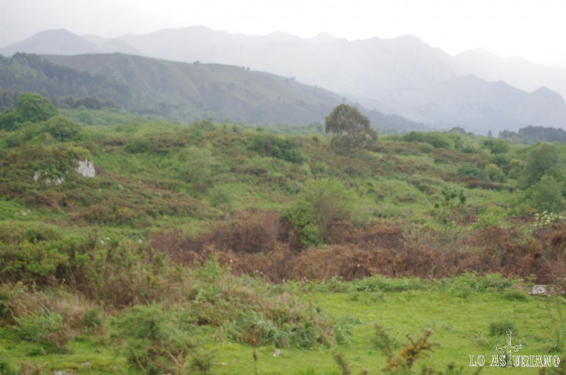 La sierra del Cuera, apenas a 6 km del mar, se alza imponente ante nosotros.