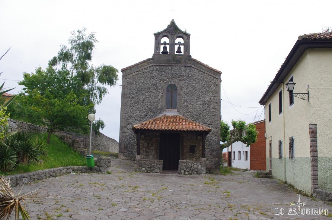 Iglesia de San Juan Bautista de Andrín.