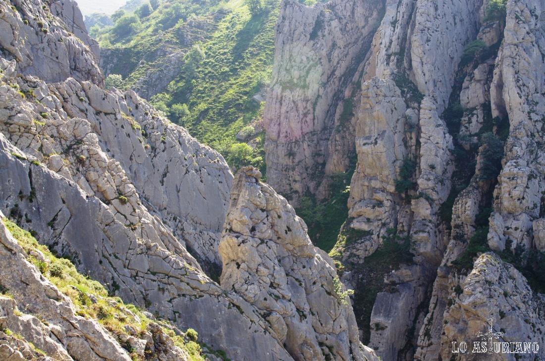 Preciosa imagen en la foz de los Arroxos, Saliencia, Somiedo, Asturias.