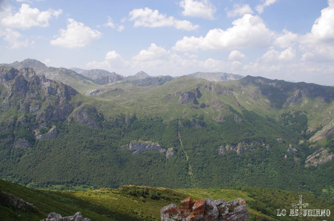 Como ves, las vistas del alto Saliencia son espectaculares.