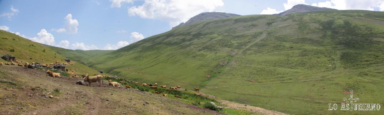 Braña y Puerto de la Mesa