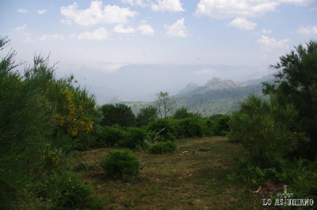 La ruta tiene unos 9.25 km y unos 500 metros de desnivel acumulado.