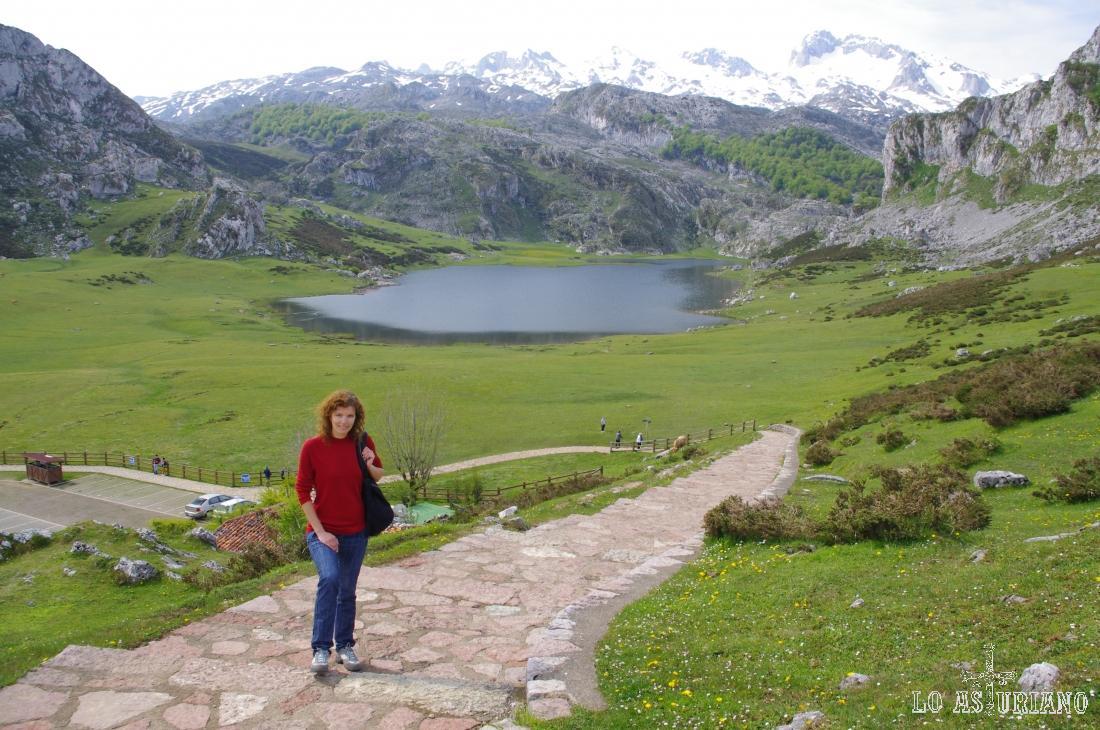 La Ercina y los Picos de Europa