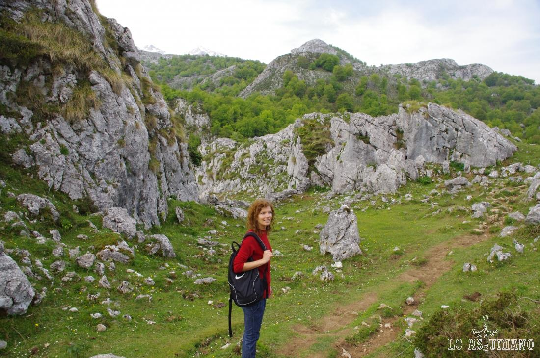 Deleite interminable en estos paisajes verdes de los Picos de Europa.