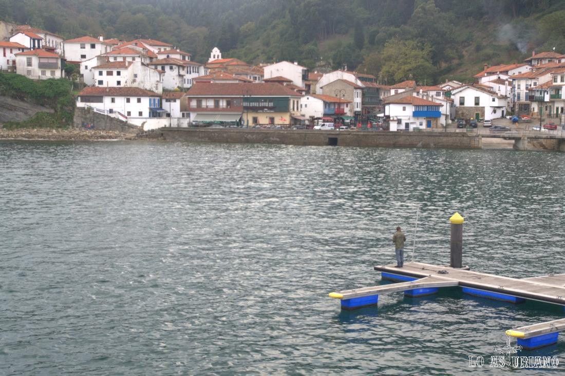 El precioso pueblín marinero de Tazones, en el concejo de Villaviciosa.