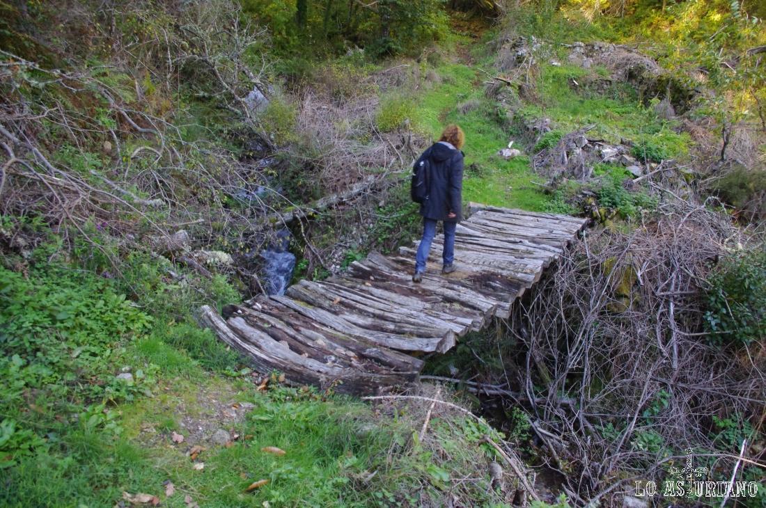 Puente sobre el Calecho