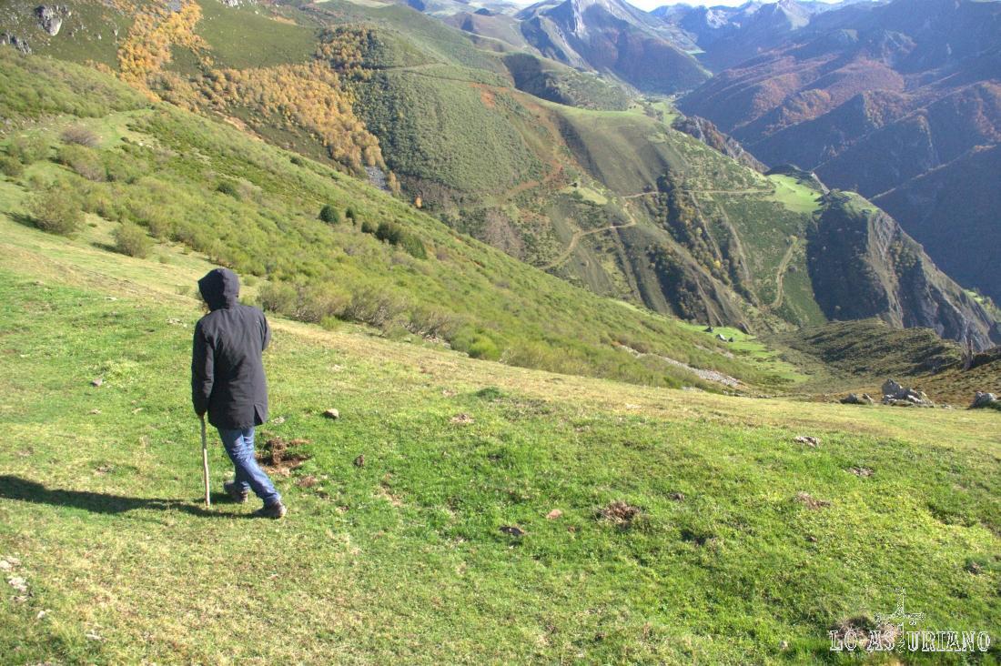 vistas del valle de Saliencia