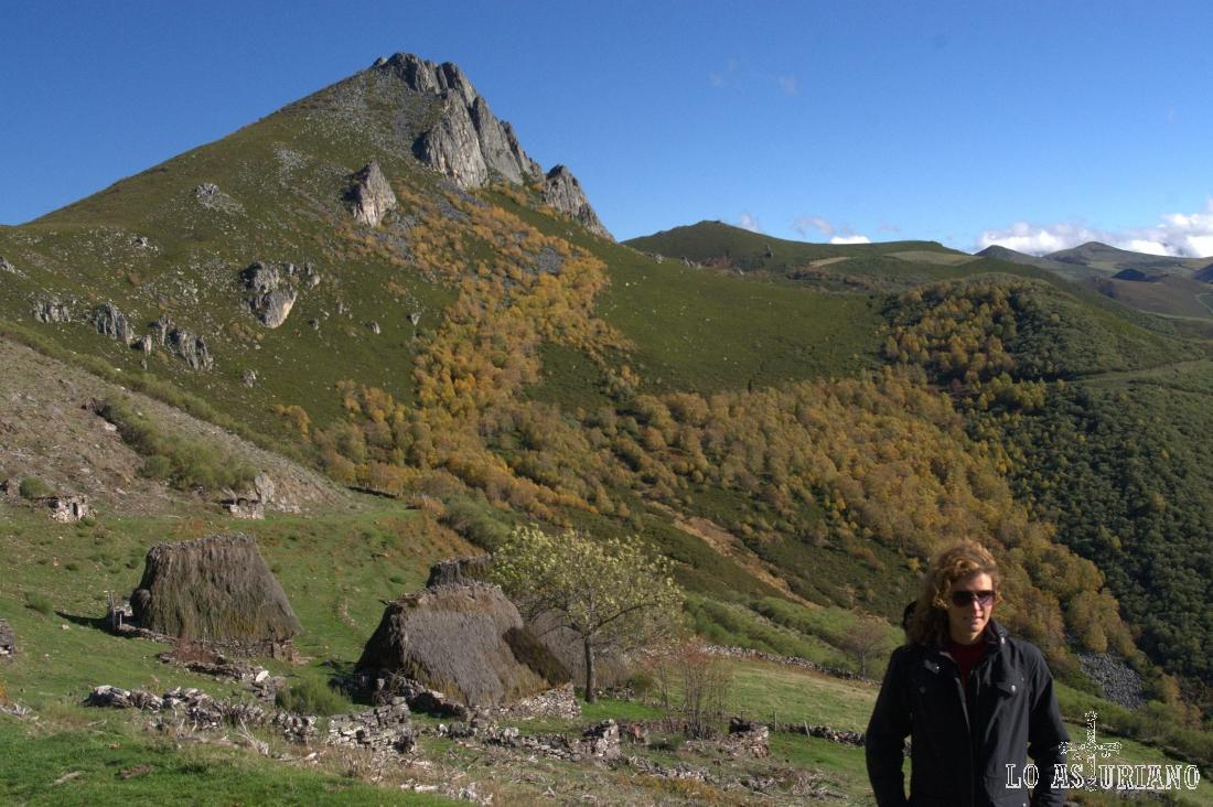 La preciosa braña de la Corra, en el valle de Saliencia, Somiedo.