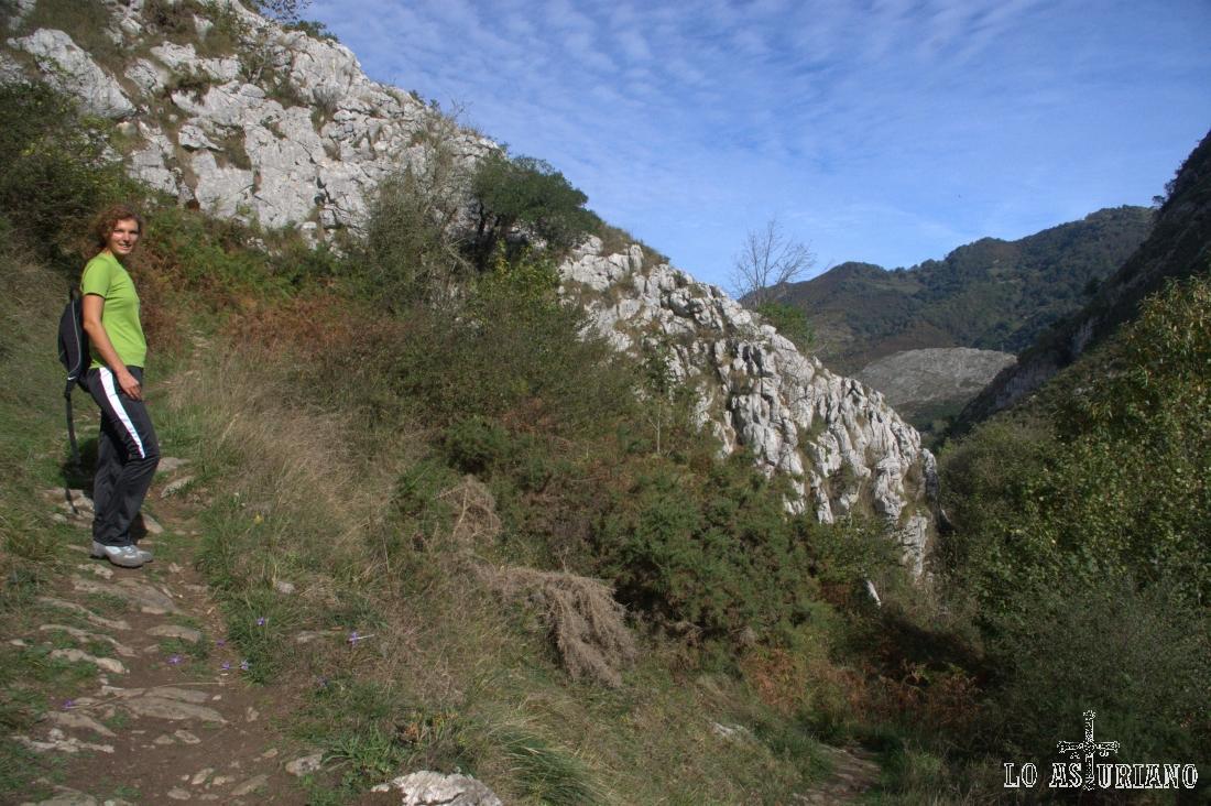 saliendo del valle del Beyu