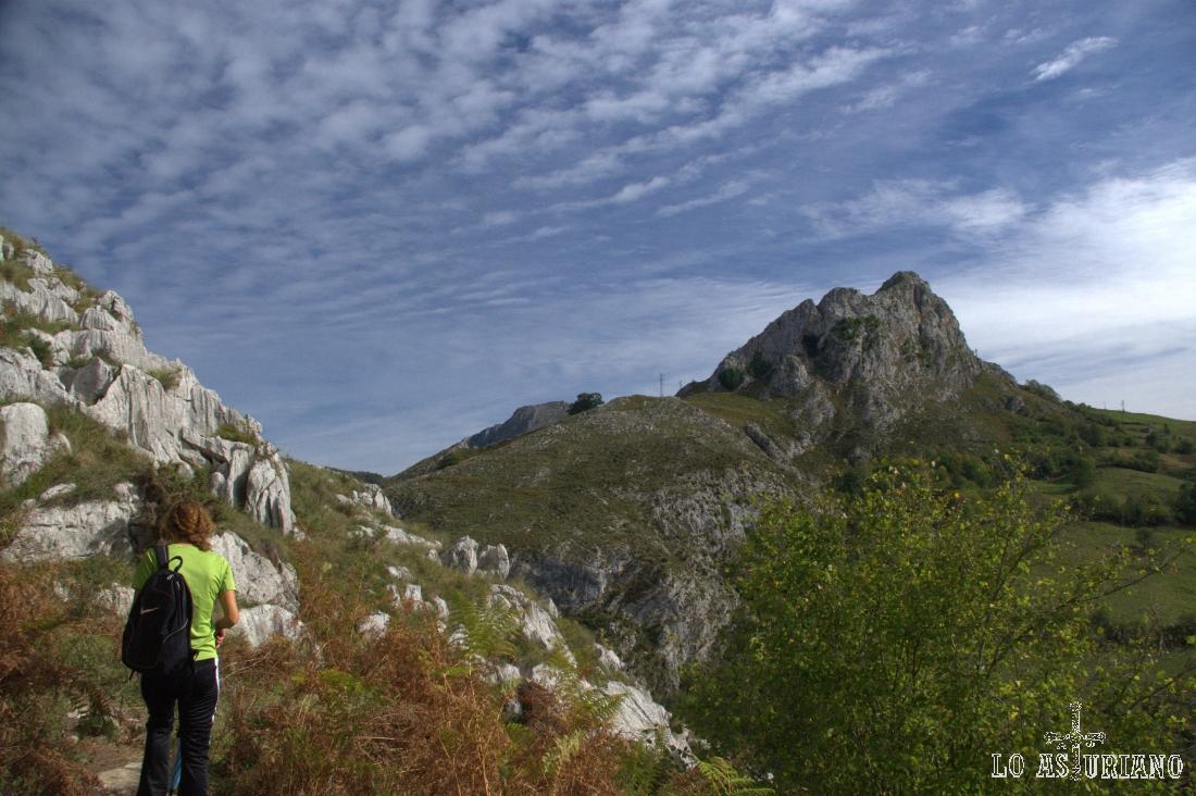 vistas hacia la sierra Trexeru