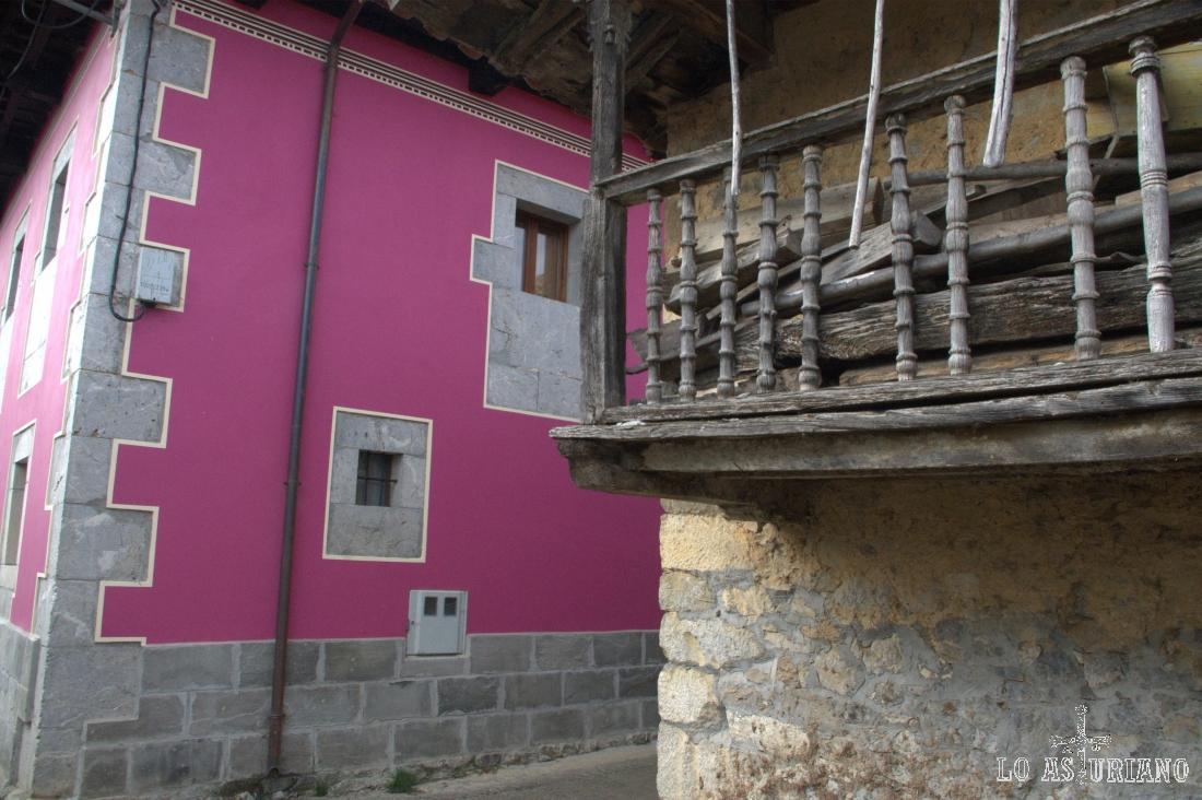 Preciosa casa restaurada en Pen, que como comentamos está bastante conservado y en activo.